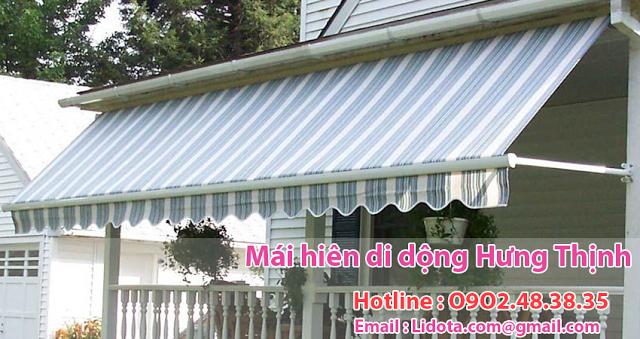 Địa chỉ lắp đặt bạt mái hiên trước nhà tại quận 6 mái xếp giá rẻ