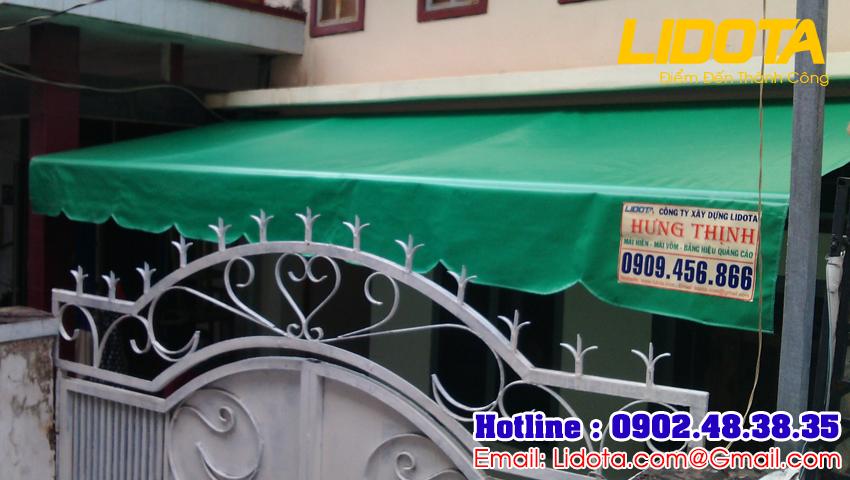 1500 khách hàng mua mái hiên di động ở quận 5 bên công ty mái che Hưng Thịnh