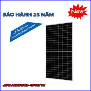 pin ja mono half cell perc module jam60s10pr 340w960w